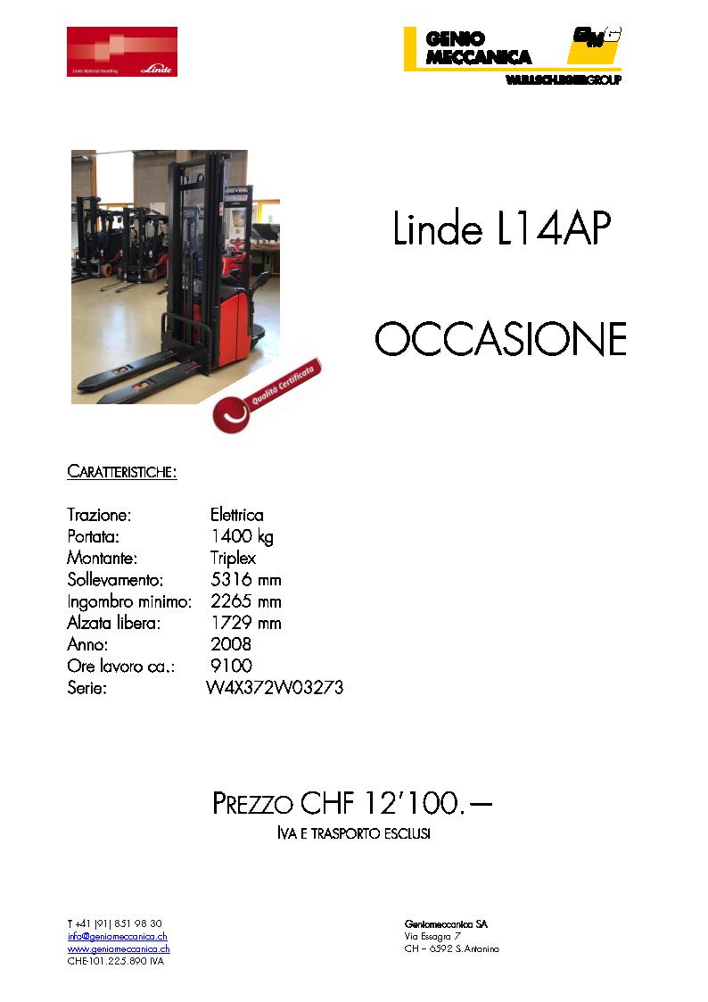 Linde L14AP