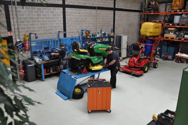 assistenza e manutenzione macchinari