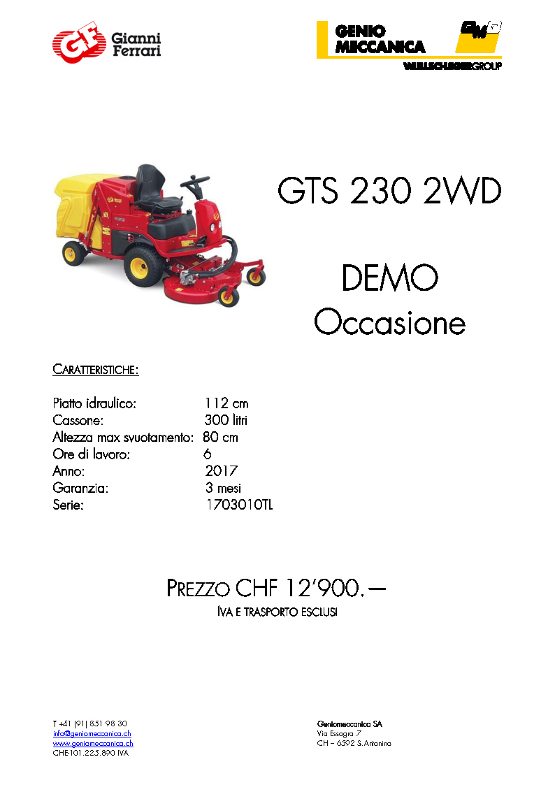 GTS-230-2WD